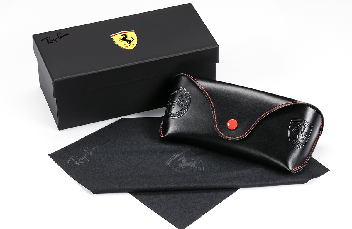 RAY-BAN 3548NM F00130 51 SCUDERIA FERRARI COLLECTION