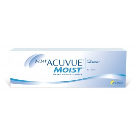1-DAY ACUVUE MOIST (30PACK) ΗΜΕΡΗΣΙΟΙ