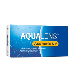 AQUALENS ASPHERIC UV (6PACK)
